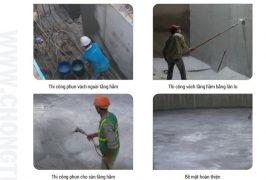 quy trình chống thấm tâng hầm