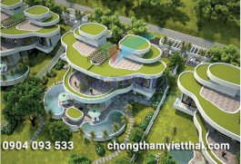 Chống thấm nhà vệ sinh Resort Lâm Sơn Hòa Bình