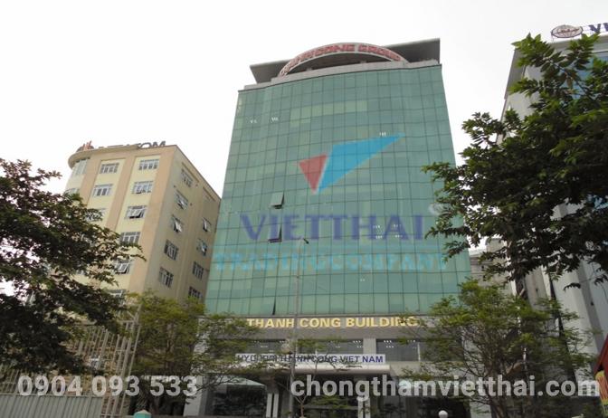 Chống thấm tòa nhà Thành công Hà Nội