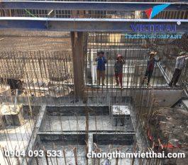 Chống thấm tầng hầm khách sạn HTM Hải Phòng