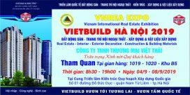 thư mời tham gia vietbuild của công ty vietthai