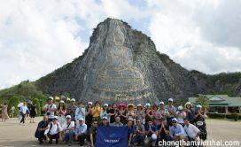 Đoàn Việt Thái check in tại Núi Phật Vàng