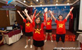 Việt Thái Hà Nội biểu diễn nhảy Việt Nam ơi