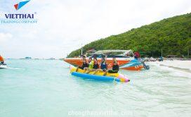 Đảo san Hô ghi dấu hoạt động vui nhộn của đoàn