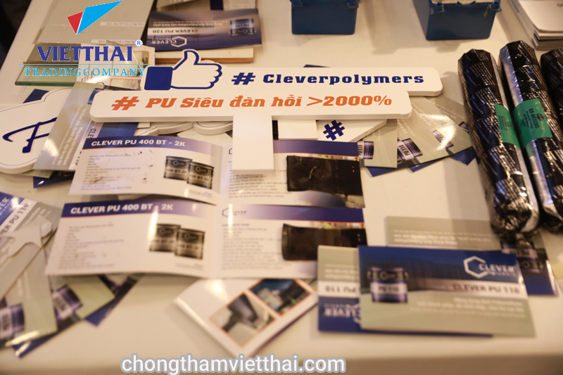 Mẫu chống thấm Clever 400 BT 2 K