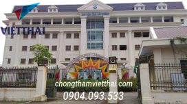 chống thấm trung tâm thư viện Hải Dương
