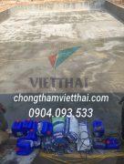 dự án chống thấm bể khu đô thị rùa vàng bắc Ninh