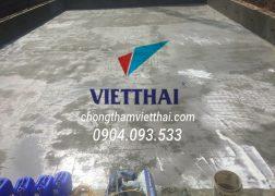 dự án chống thấm bể kdt rùa vàng bắc Ninh