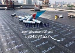 chống thấm sàn mái bằng màng tự dính bitumax
