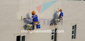 thi công chống thấm tường