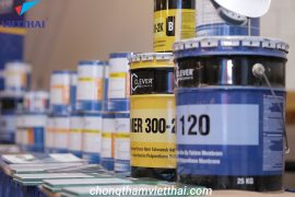 hệ thống vật liệu chống thấm polyurethane Clever Polymer