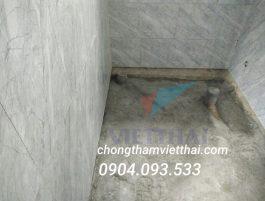 Những biện pháp thi công chống thấm cổ ống xuyên sàn nhà vệ sinh hiệu quả nhất