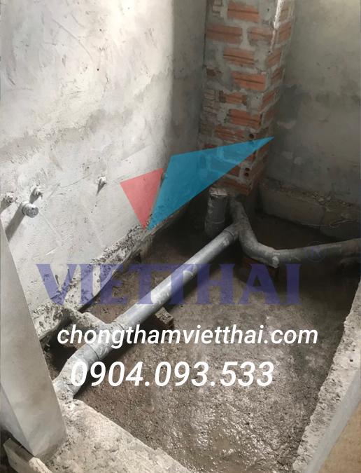 Cách chống thấm sàn âm nhà vệ sinh  đơn giản hiệu quả