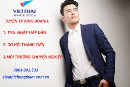 [VIỆT THÁI] TUYỂN TRƯỞNG PHÒNG KINH DOANH
